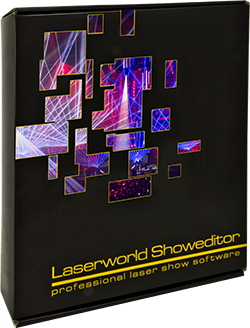 Laserworld Showeditor V6 packaging 250